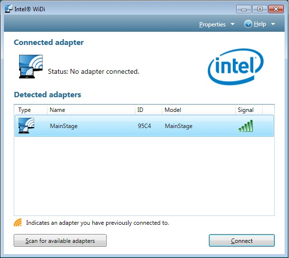 Download intel widi windows 8.
