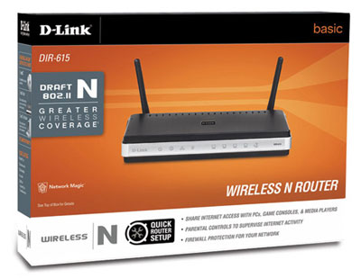 D-Link DIR-615 Wireless Installation Considerations