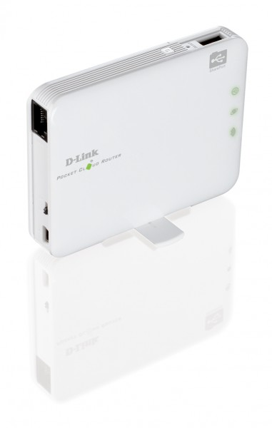 Share an Internet connection on the go with this D-Link pocket router