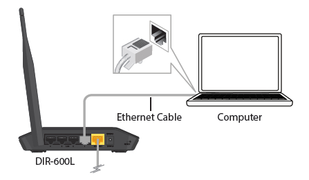 Connect your Wireless N150 Cloud Router DIR-600L_3