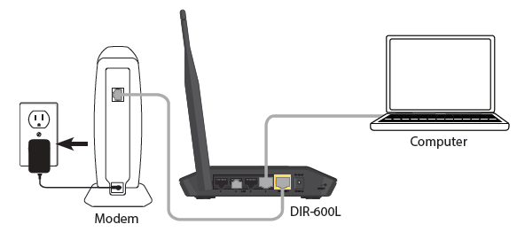 Connect your Wireless N150 Cloud Router DIR-600L_4