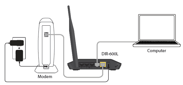 Connect your Wireless N150 Cloud Router DIR-600L_5