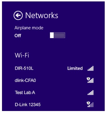 how to put password on dlink router