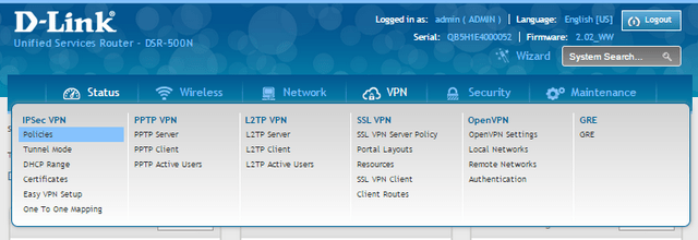 DSR_Series_FW2_How_to_setup_VPN_IPsec_between_7