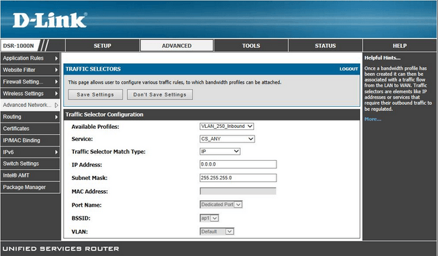 DSR_Set_a_bandwith_limit_for_incoming_traffic_for_all_IPs_on_a_specific_VLAN9