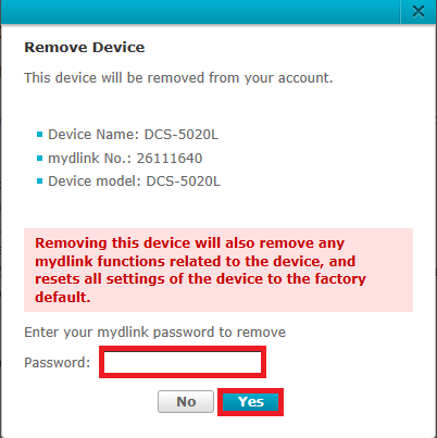 how to add device to mydlink account
